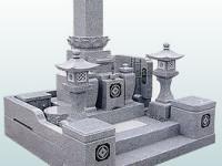 和墓 国産大島石