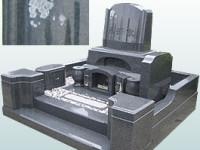 どっしりとしたデザイン墓