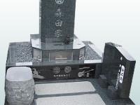 ギターやスノーボードを彫刻したデザイン墓