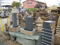 生駒石を利用した造形物・モニュメント