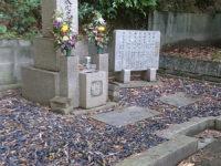 撤去前のお墓。